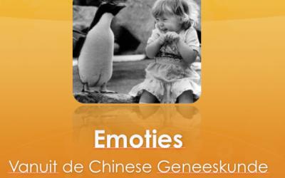 emoties volgens de Chinese Geneeswijzen