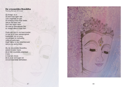 De vrouweijke Boeddha